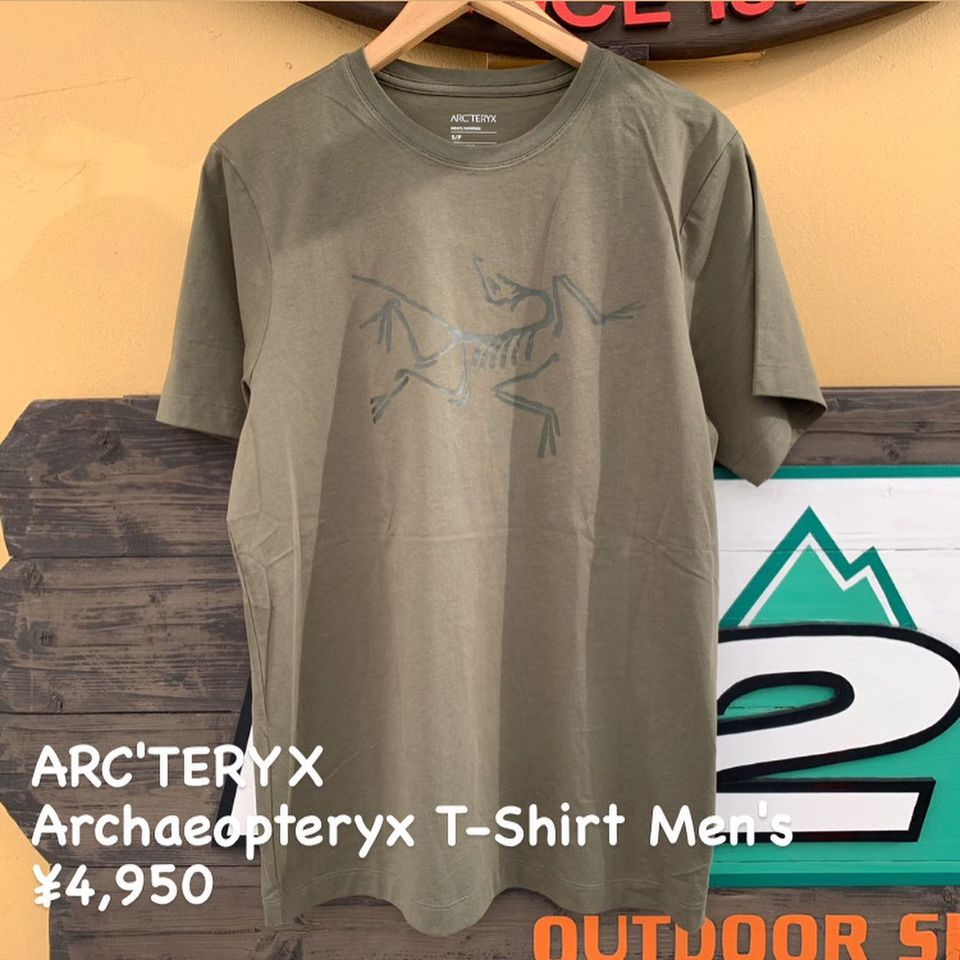 『ARC'TERYX アーキオプテリクス Tシャツ メンズ』のご紹介