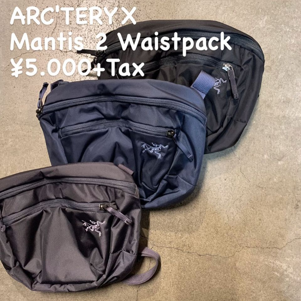 『ARC'TERYX マンティス 2 ウエストパック』のご紹介