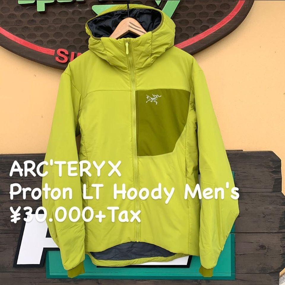 高い通気性と適度な保温性を兼ね備えた化繊アクティブインサレーション『ARC'TERYX プロトン LT フーディ メンズ』のご紹介