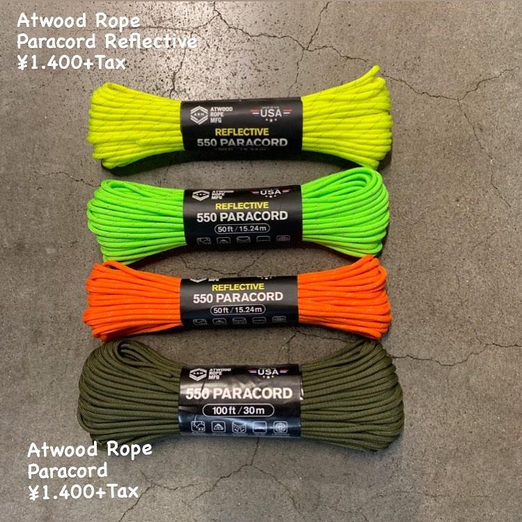 アメリカ生まれのロープ専用ブランドAtwood Rope〈アットウッドロープ〉のご紹介