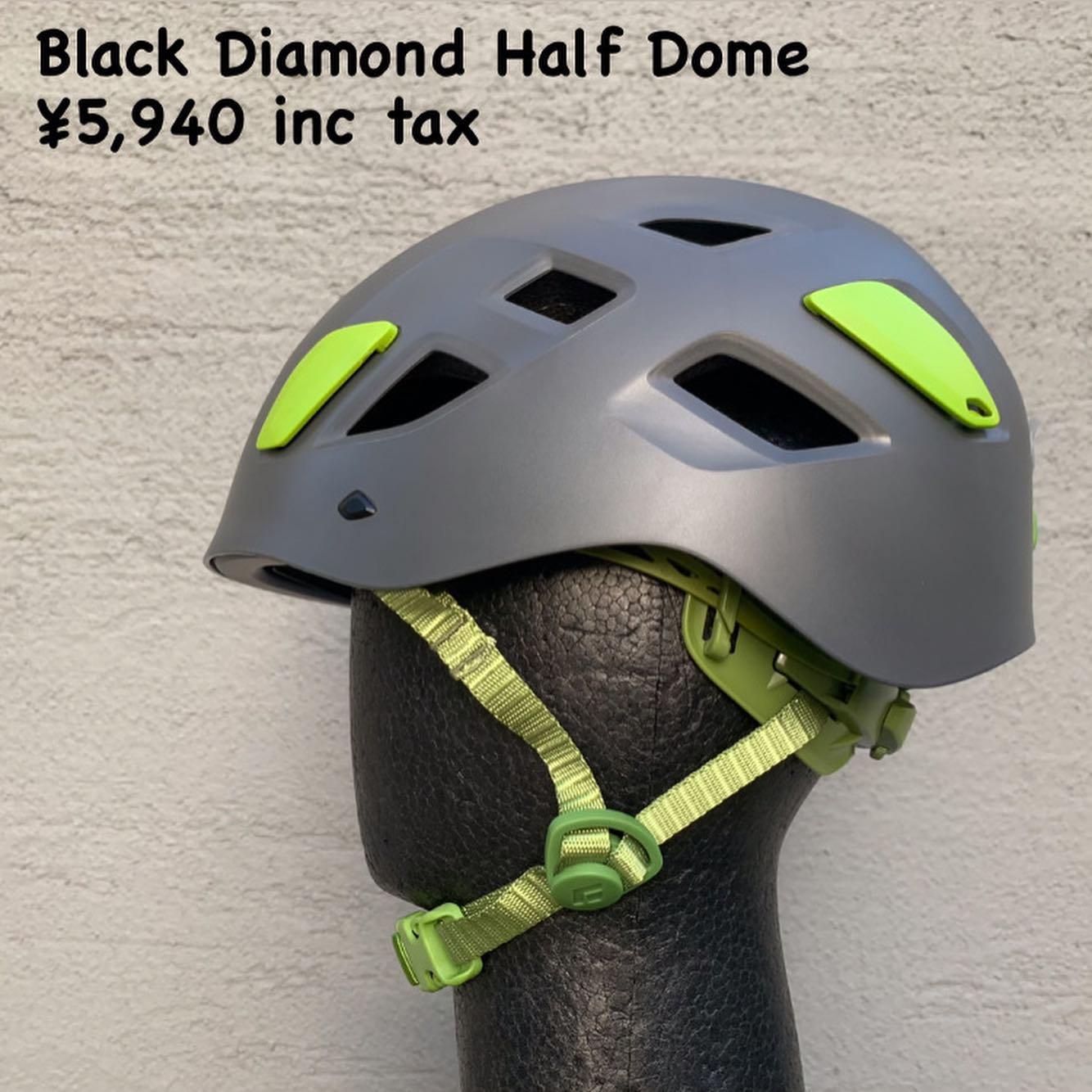 装着感、保護性能、コストパフォーマンスの三拍子揃った定番モデル『Black Diamond ハーフドーム』のご紹介