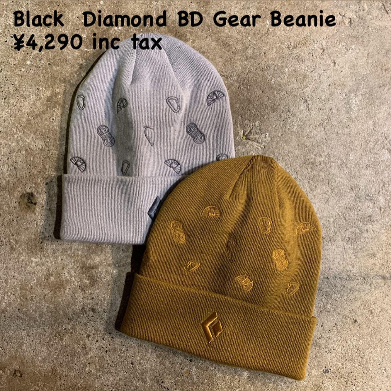 Black Diamondのビーニー各種入荷してます。