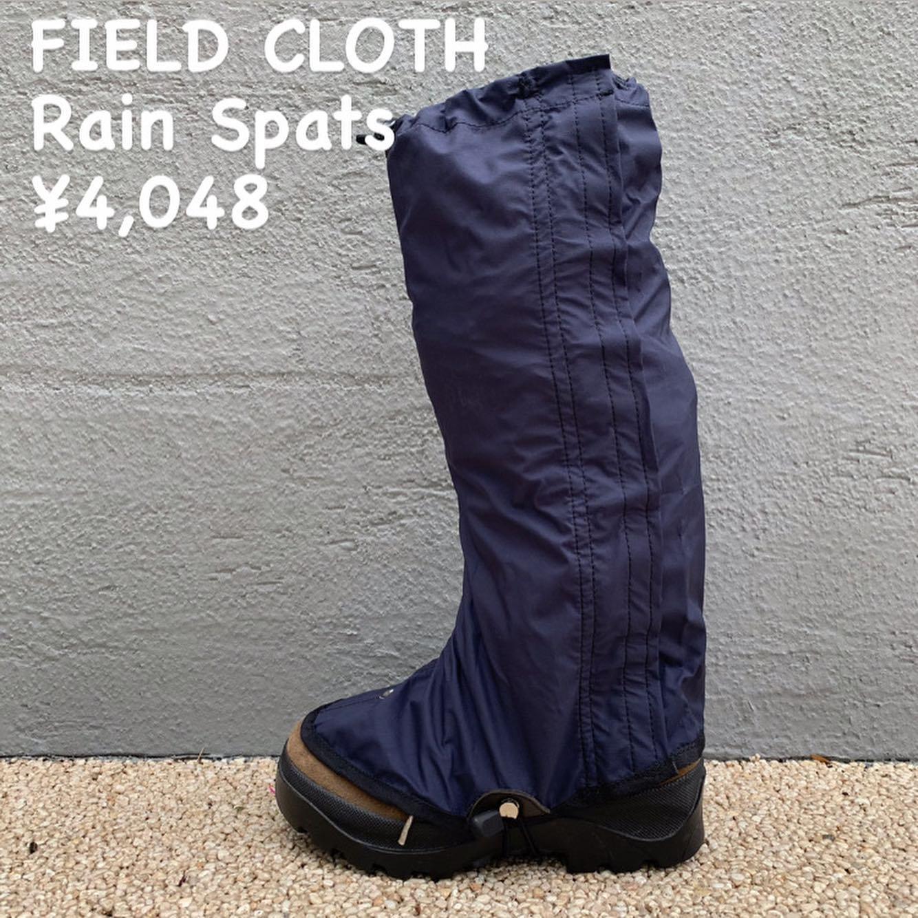 コンパクトで装着も容易な『FIELD CLOTH レインスパッツ コバ付き』のご紹介