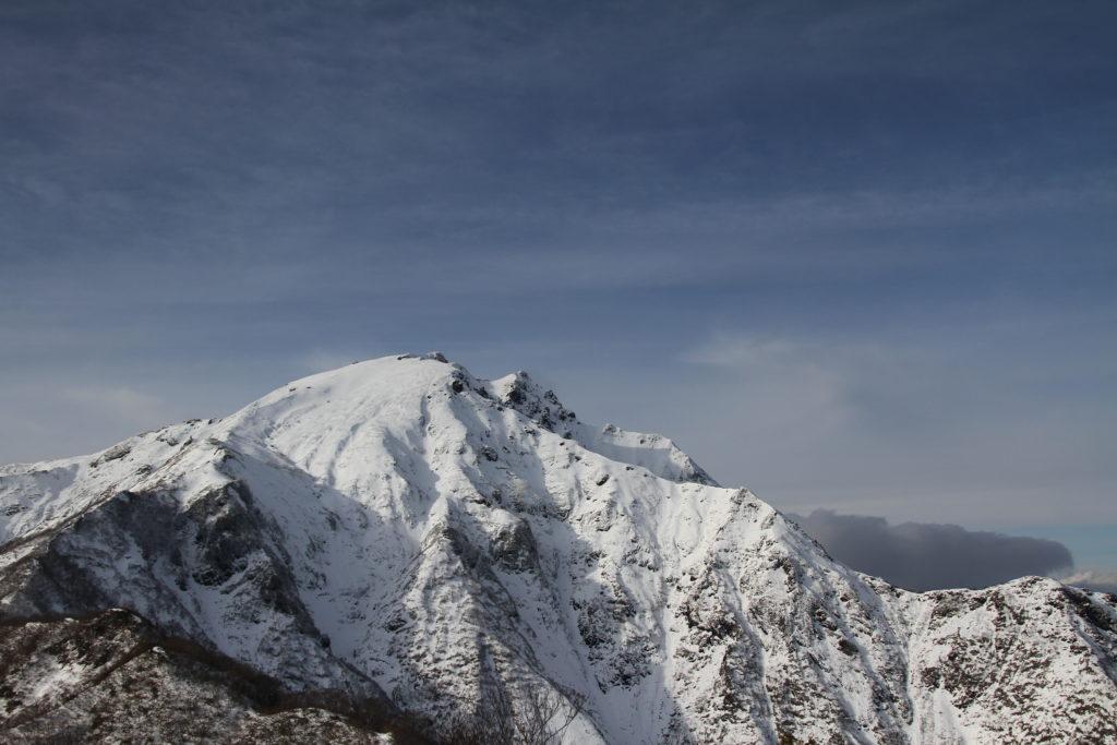 雪山_谷川岳
