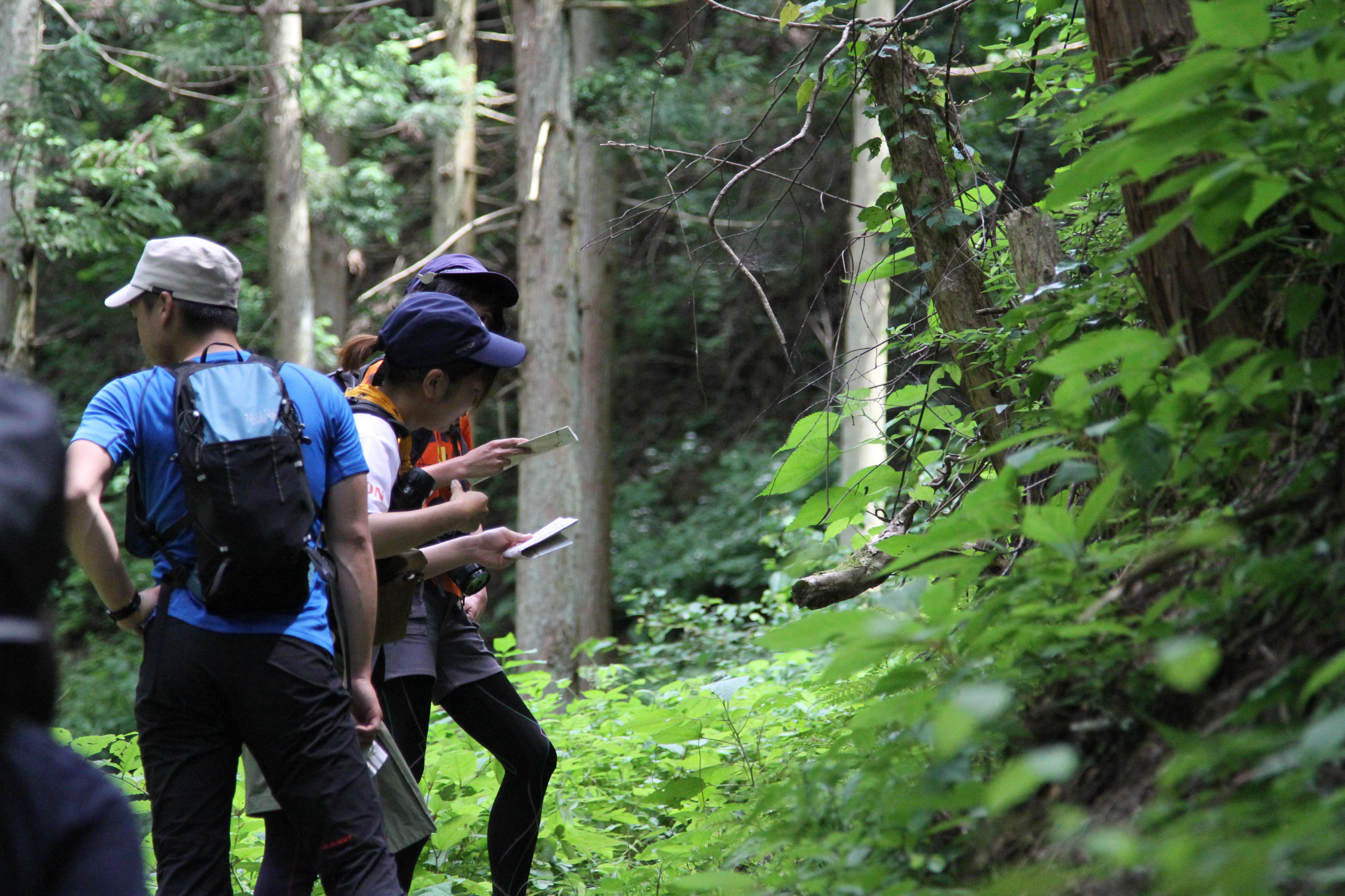 【中止】2020.5.30 山の講習会 ≪フィールドトレーニング≫F5B 山での地図読み 元加治