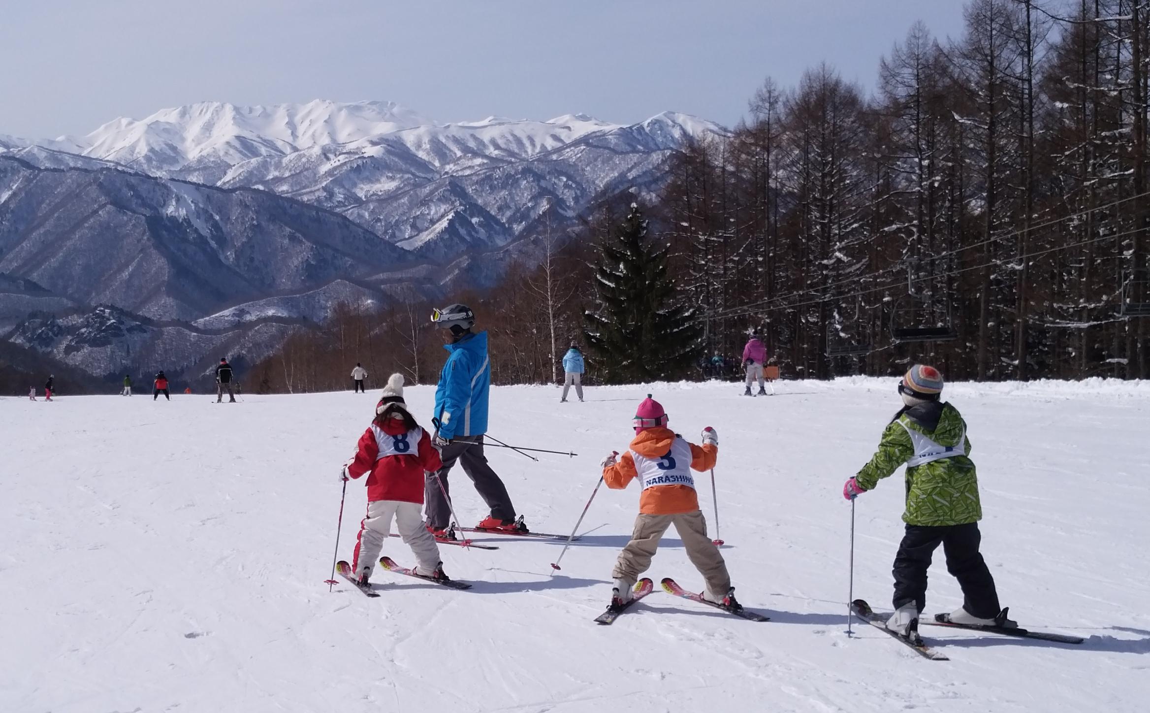 2020春休みジュニアスキースクール