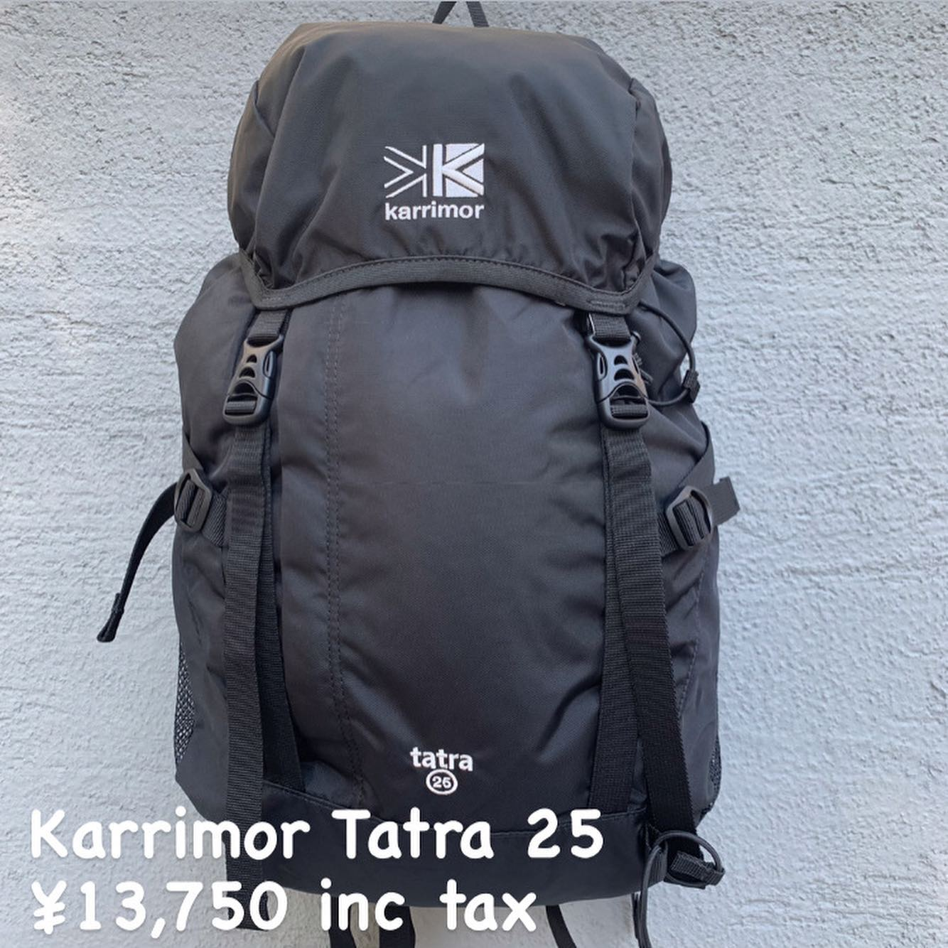 装備充実のトップローダー『Karrimor タトラ 25』のご紹介