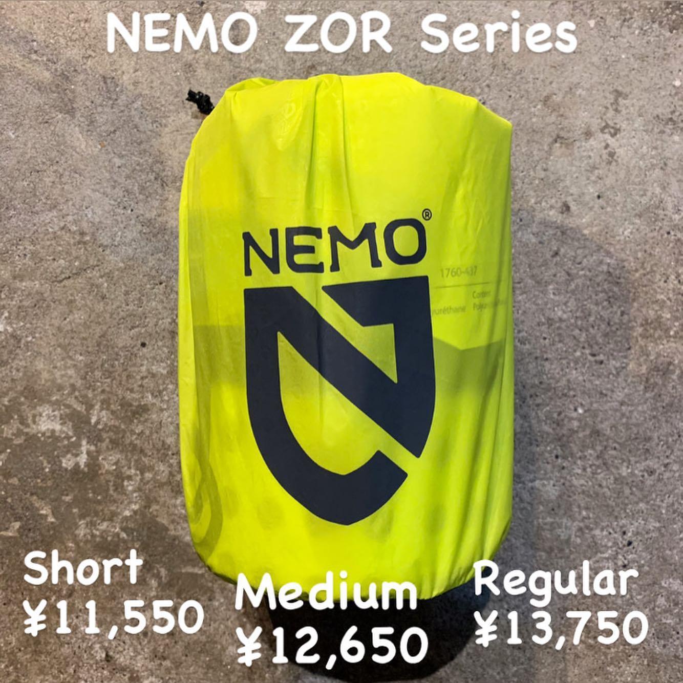 S21モデルより新しくなるNEMOのスリーピングパッド『ZOR』(ゾア )のご紹介