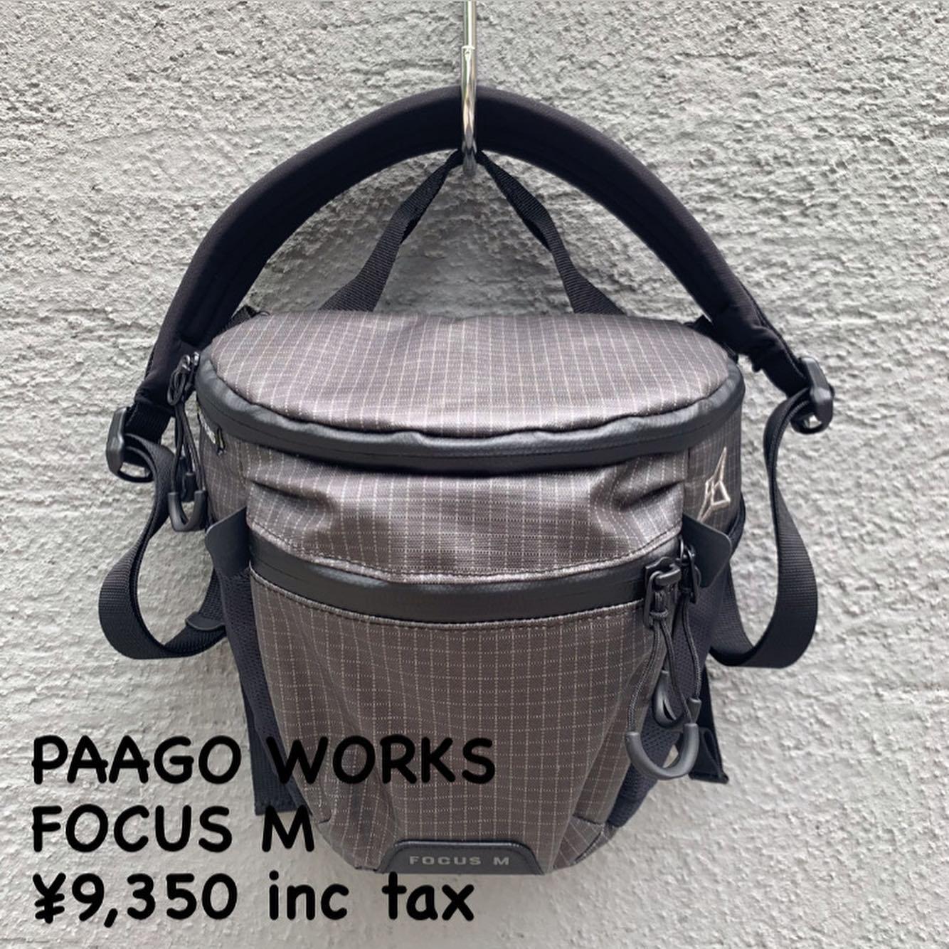 より強く、より軽く進化したカメラバッグ『PAAGO WORKS フォーカス M』のご紹介