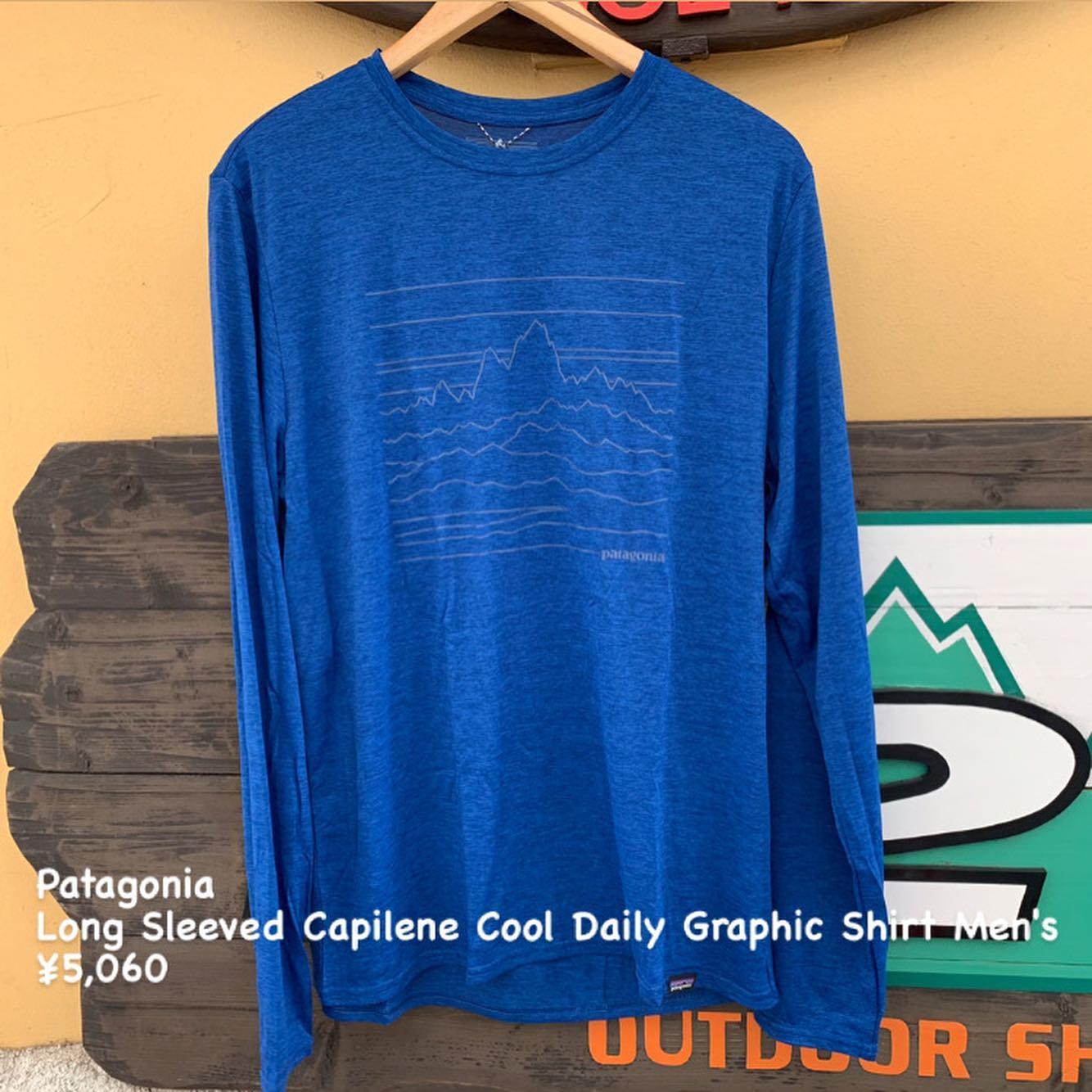 パタゴニア新着製品『ロングスリーブ キャプリーン クール デイリー グラフィック シャツ 』のご紹介