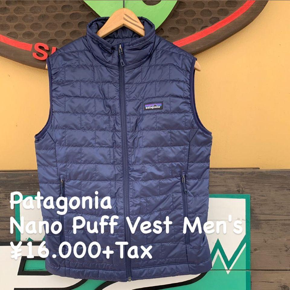 シーズンの合間の働き者『Patagonia ナノパフ ベスト メンズ』のご紹介