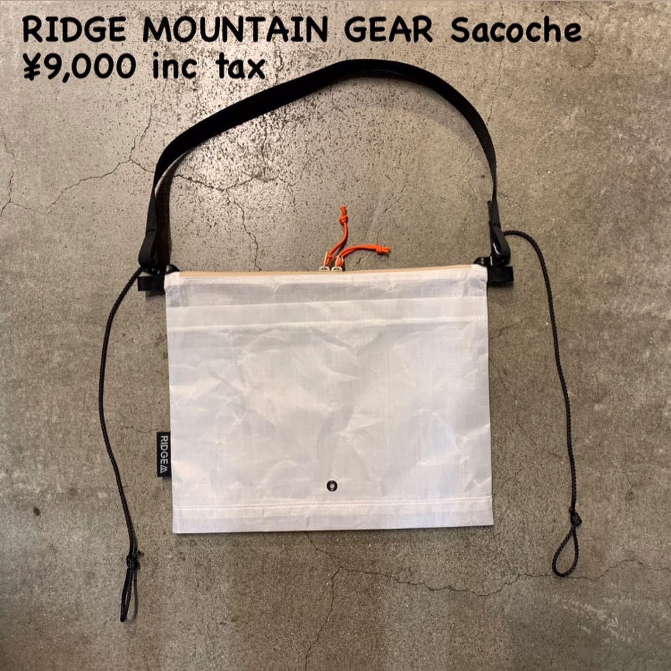 徹底した作り込みがすごい!『RIDGE MOUNTAIN GEAR サコッシュ』のご紹介