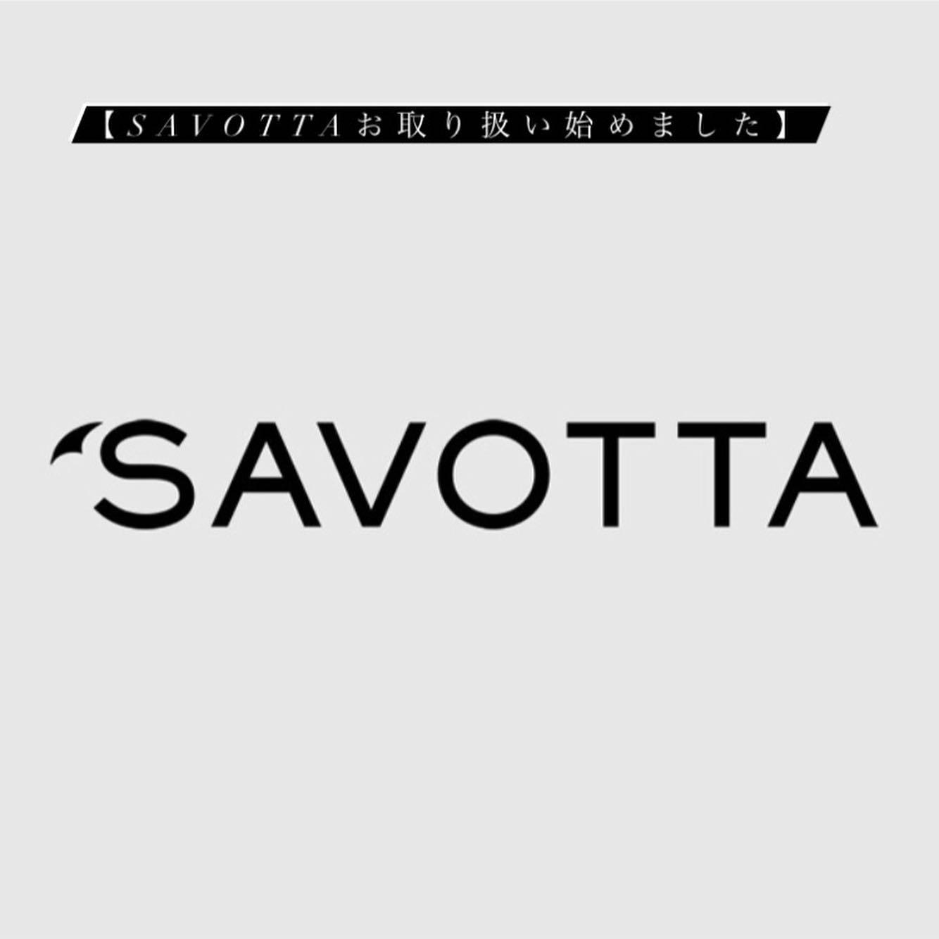 【SAVOTTA お取り扱い始めました】