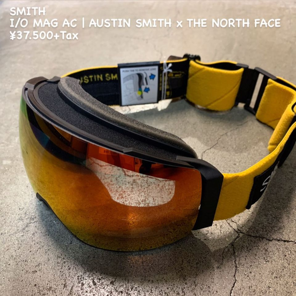 Austin Smith× THE NORTH FACE×SMITHのトリラボレーションゴーグルのご紹介