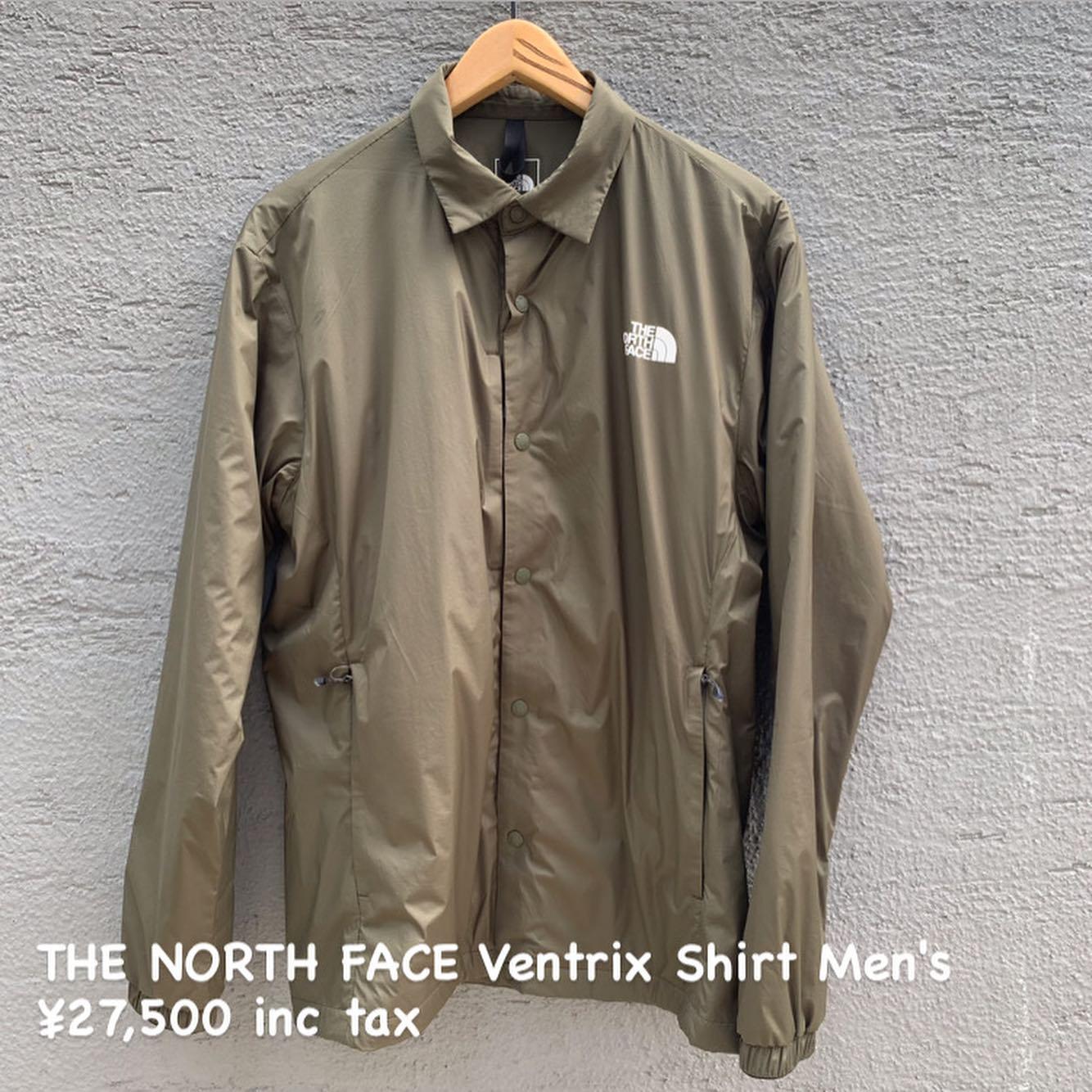 暖かくて、暑くならない、行動する保温着『THE NORTH FACE ベントリックス シャツ メンズ』のご紹介