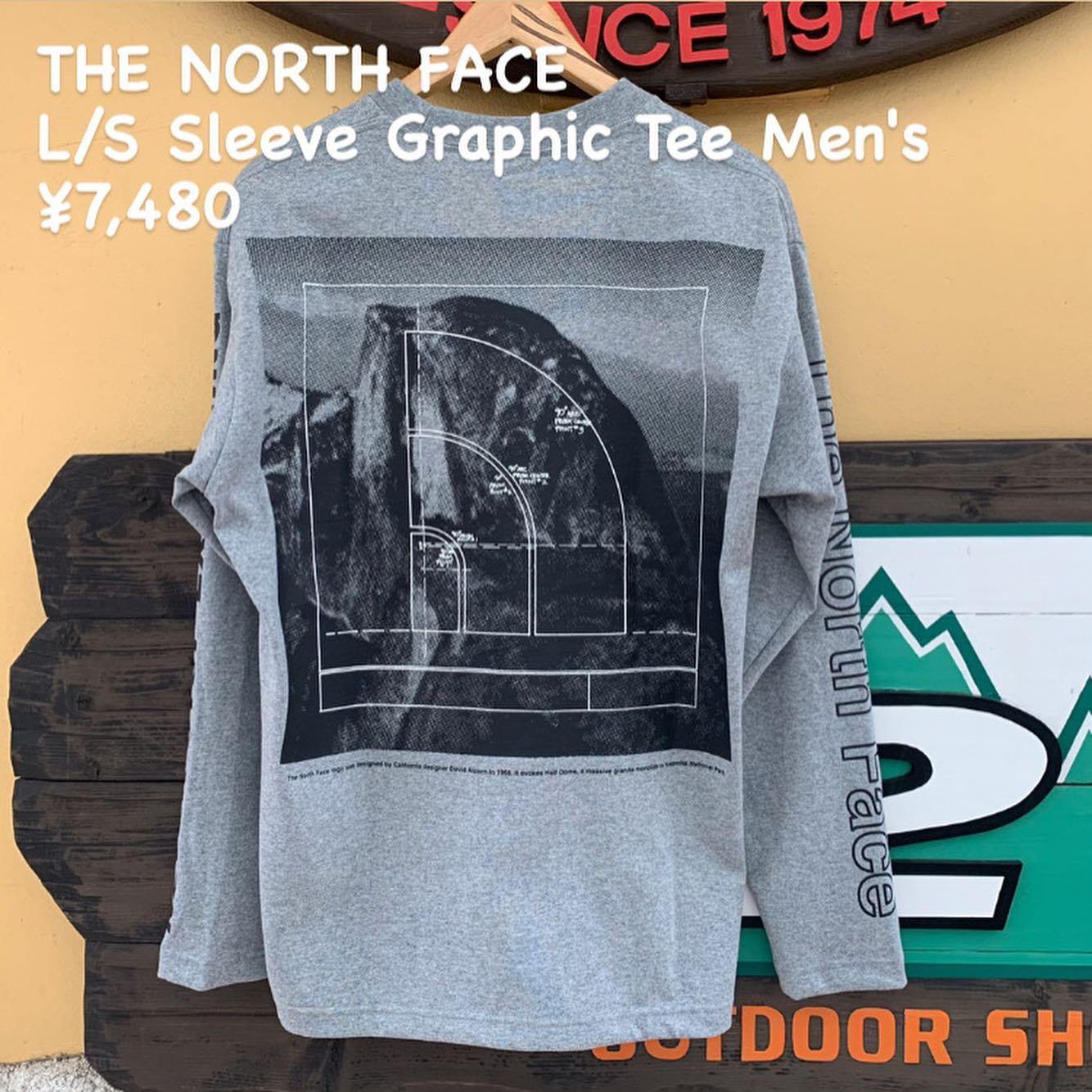 THE NORTH FACE ロングスリーブスリーブグラフィックティー メンズのご紹介