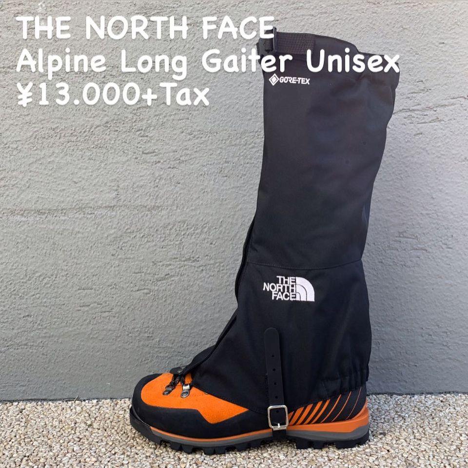 堅牢性の高い冬季対応ゲイター『THE NORTH FACE アルパインロングゲイター』のご紹介