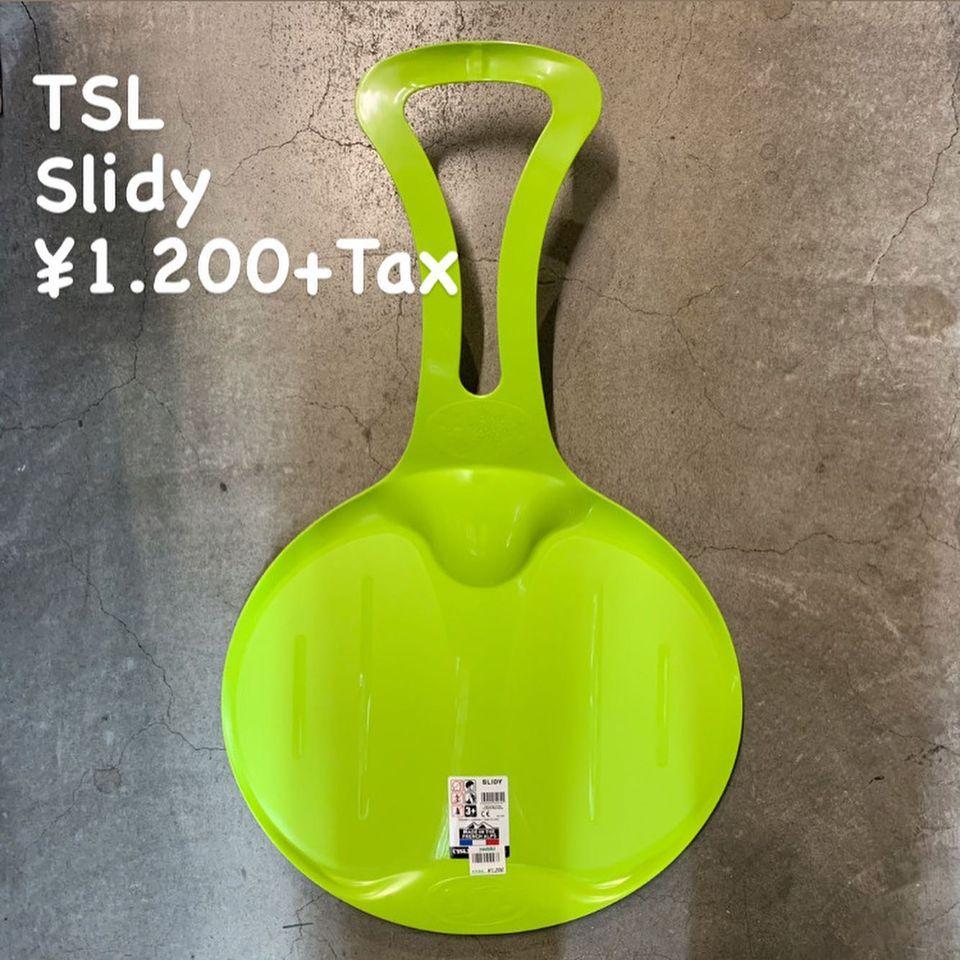 雪遊びの必須アイテム『TSL スライディー』のご紹介
