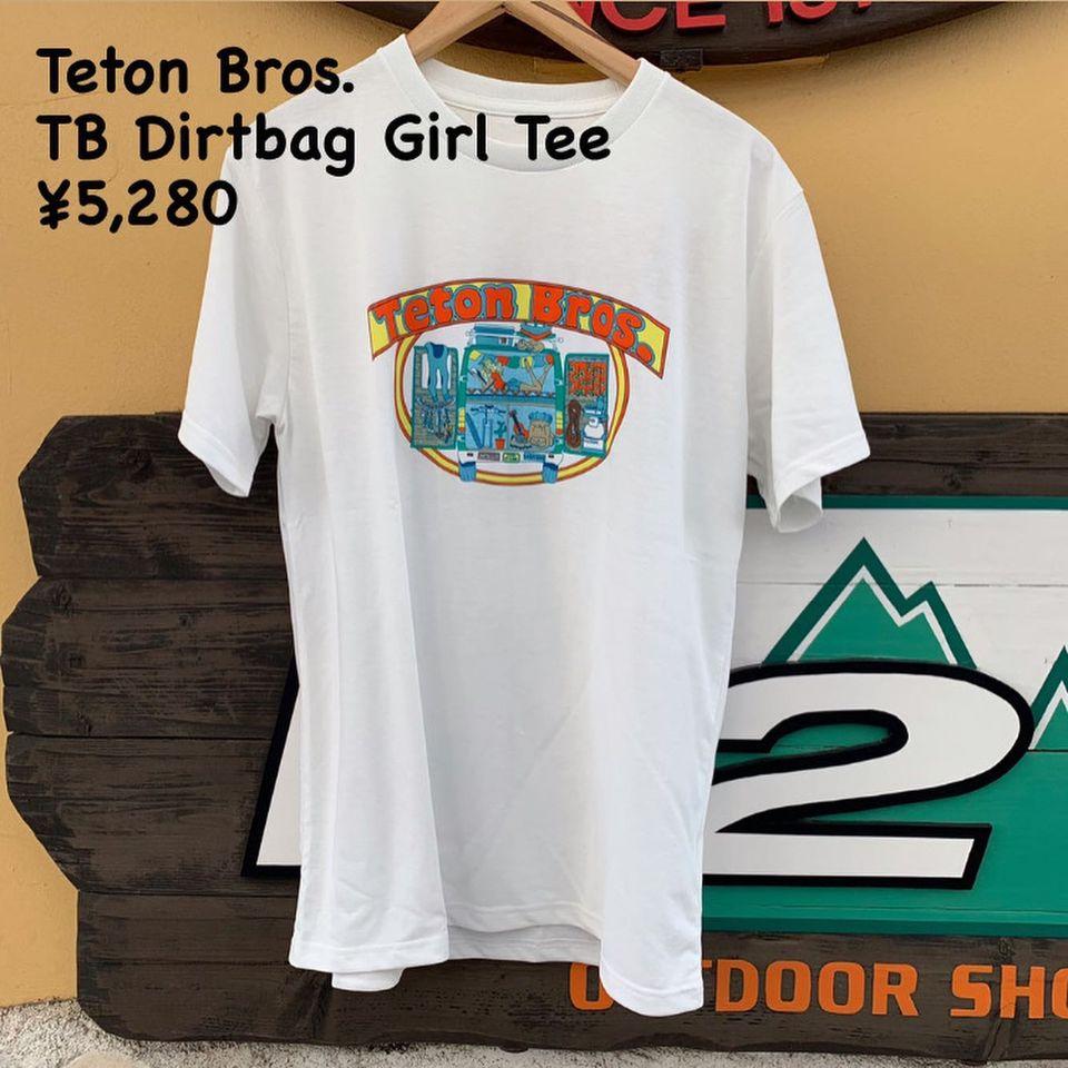 Teton Bros.の毎シーズンの恒例となっている人気のTEEシリーズのご紹介