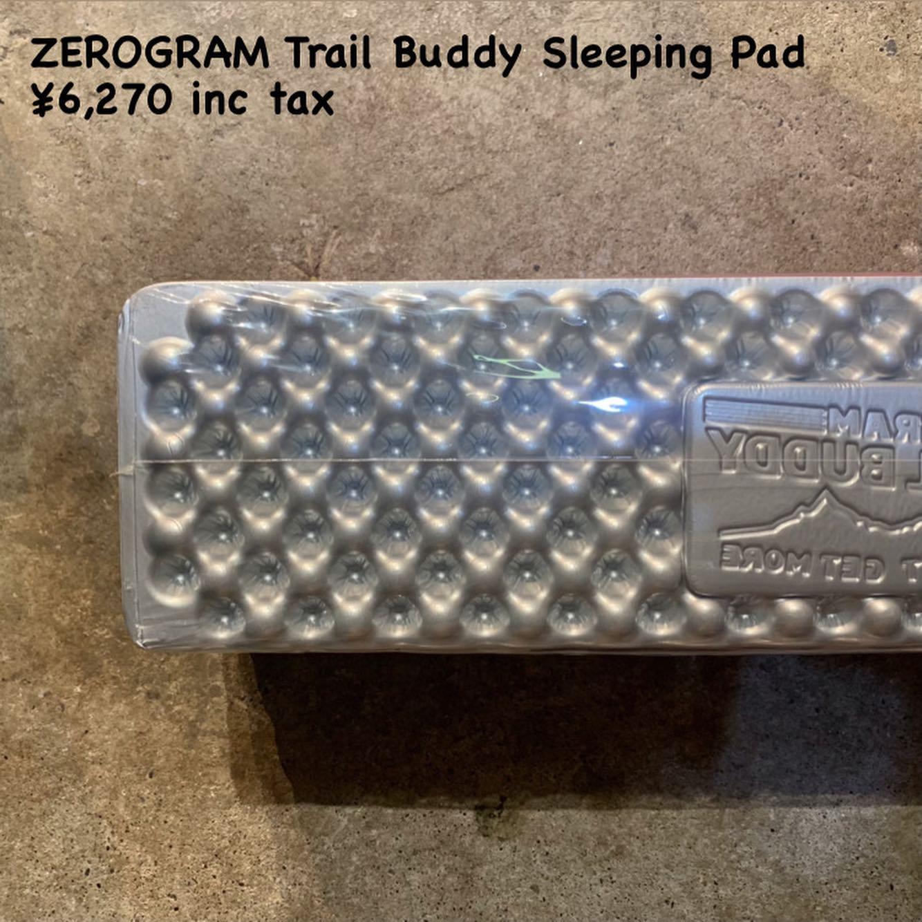 ZEROGRAM トレイル バディ スリーピング パッドのご紹介