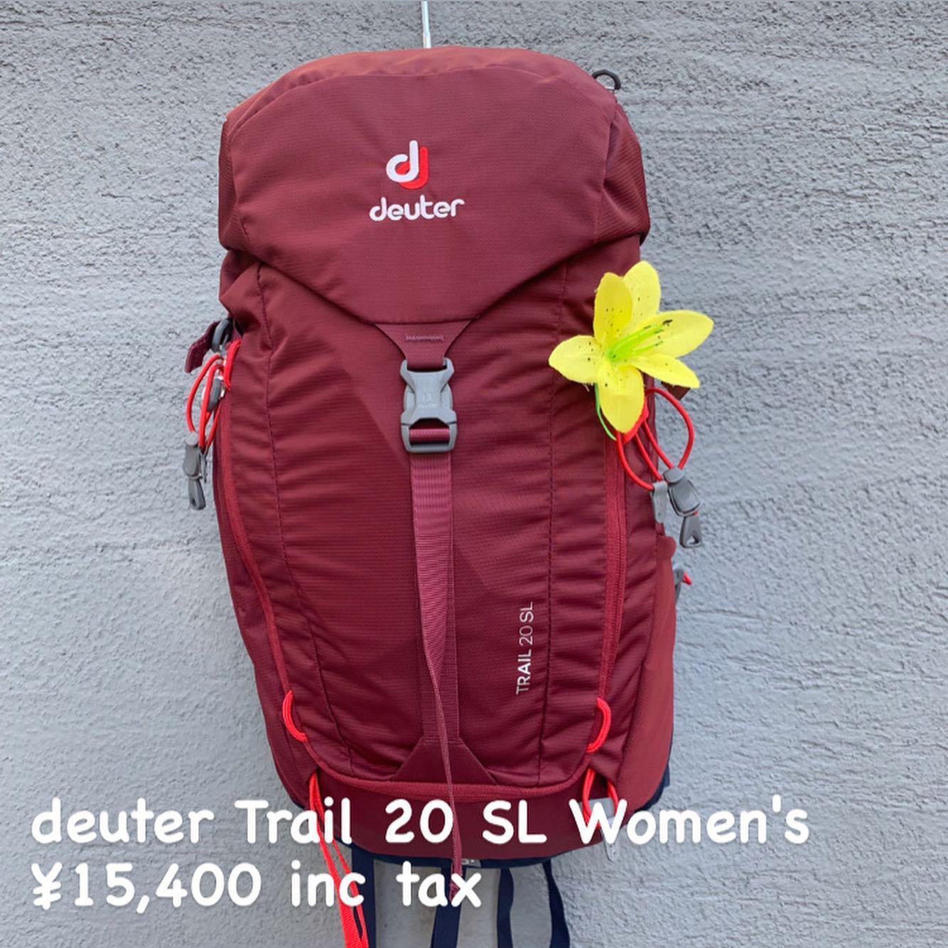 高いフィット感と背面の通気性を両立したハイキングやクライミングに適したシリーズ『deuter トレイル 20 SL ウィメンズ』のご紹介