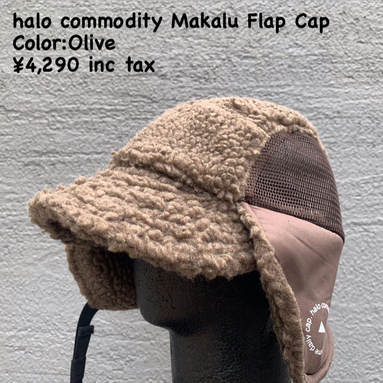 halo commodityの21FW製品『マカルー フラップ キャップ』のご紹介