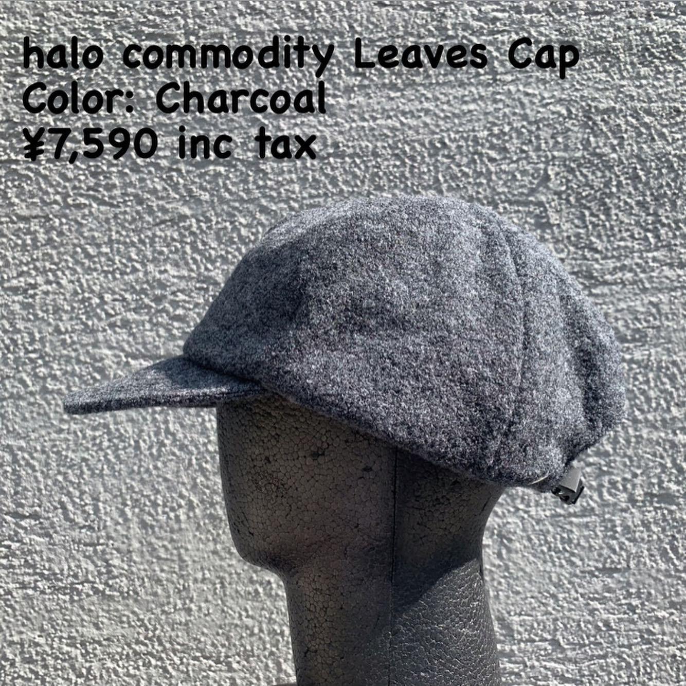 halo commodityの21FW製品『halo commodity Leaves Cap』のご紹介