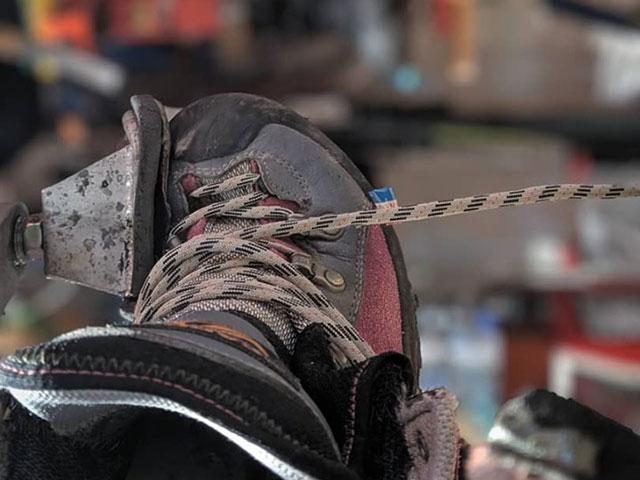登山靴のアフターフォロー