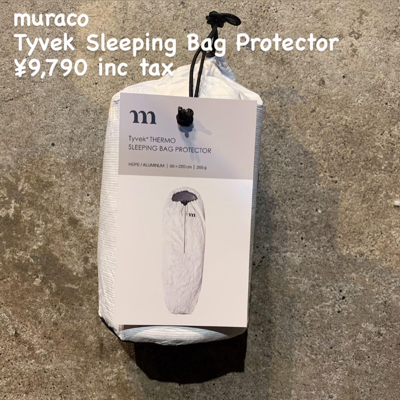 結露などからスリーピングバッグ本対を守る『muraco タイベック サーモ スリーピングバッグ プロテクター』のご紹介