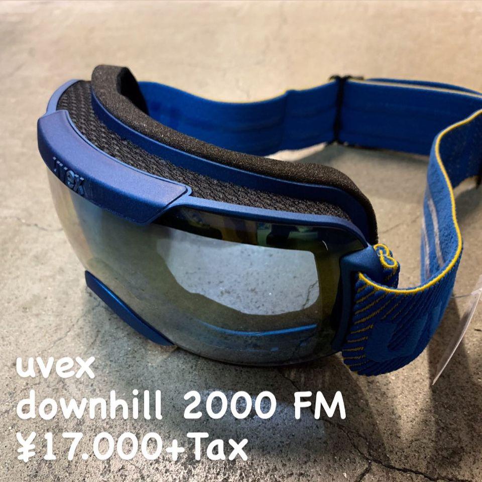 軽量で視界の広い『uvex downhill 2000 FM』のご紹介